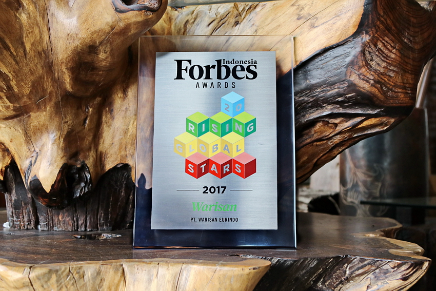 Warisan Awarded By Forbes As A Rising Global Star 2017