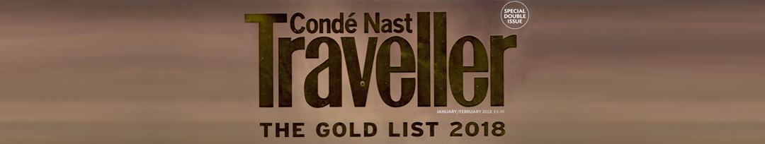 World Gold List 2018 by Conde Nast