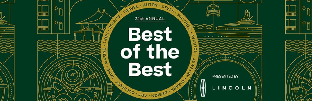 Robb Report Best Of the Best 2019