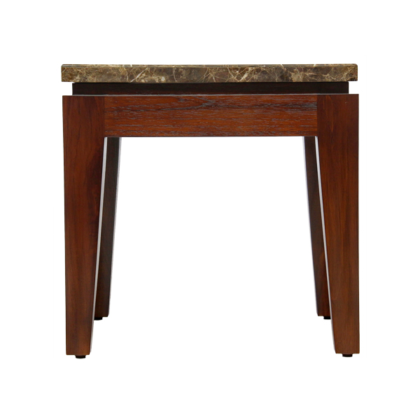 Riko End Table Stone Top
