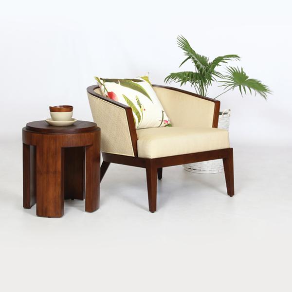 Teabu Round Side Table