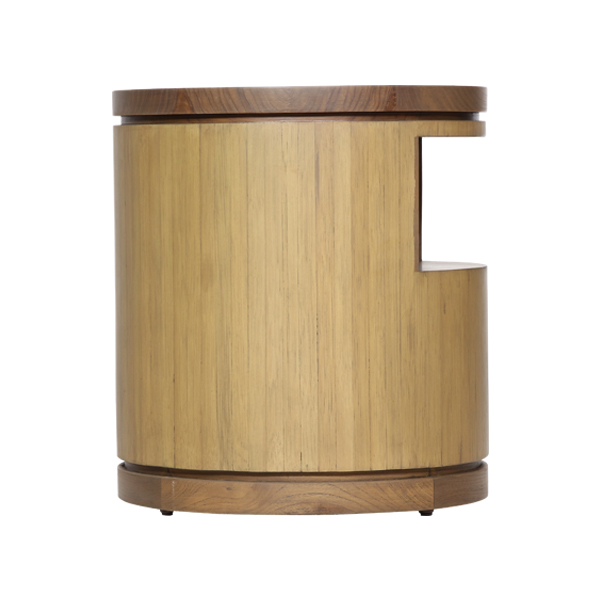 Teabu Bed Side Table Round