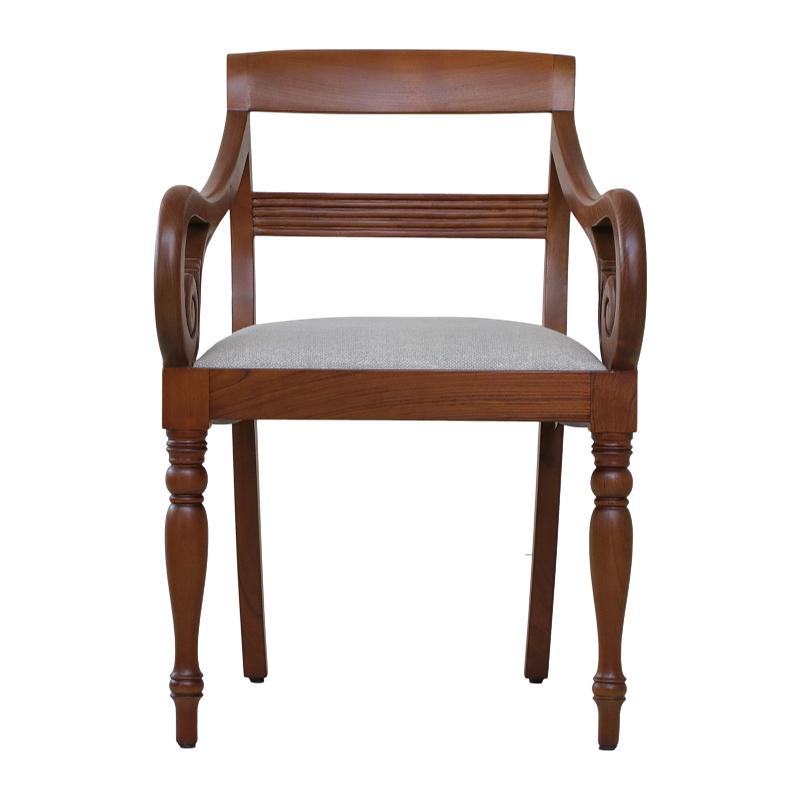 Regency Armchair With Drop-in Cushion