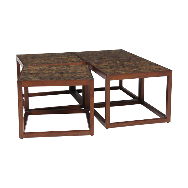 Skandi 4 Square Coffee Table