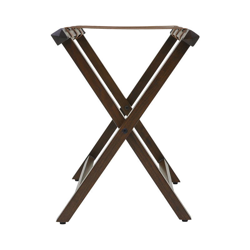 Rustic Luggage Rack