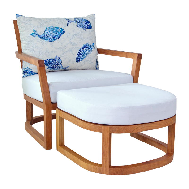 Korogated Outdoor Lounge Chair