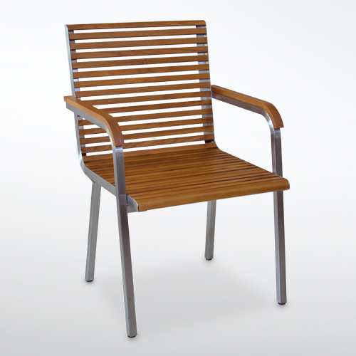 Garis Outdoor Armchair
