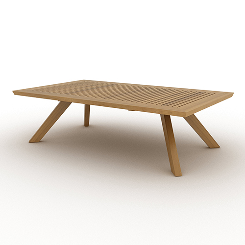 Jalan Outdoor Rectangular Coffee Table-B