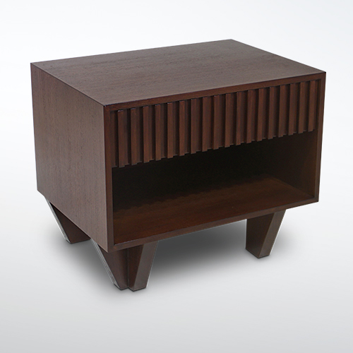 Korogated Bed Side Table