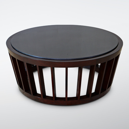 Korogated Coffee Table Round