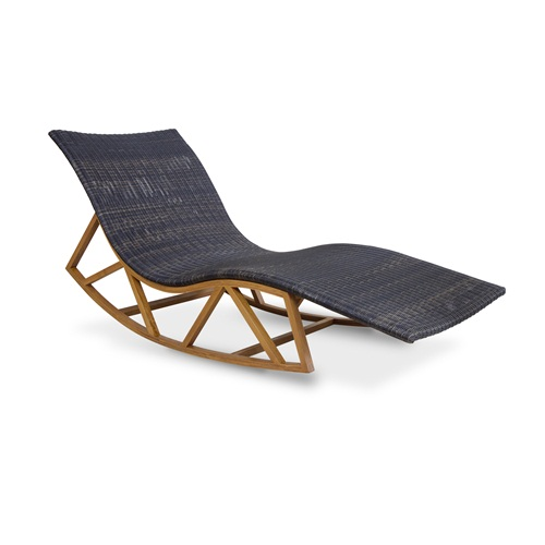 Onda Outdoor Rocking Lounge Chair
