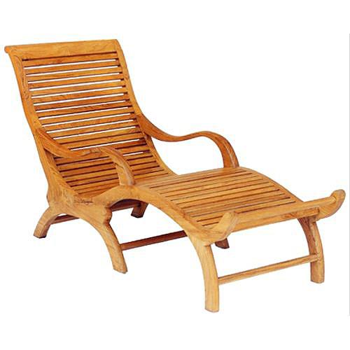Bangkok Long Chair - Rattan