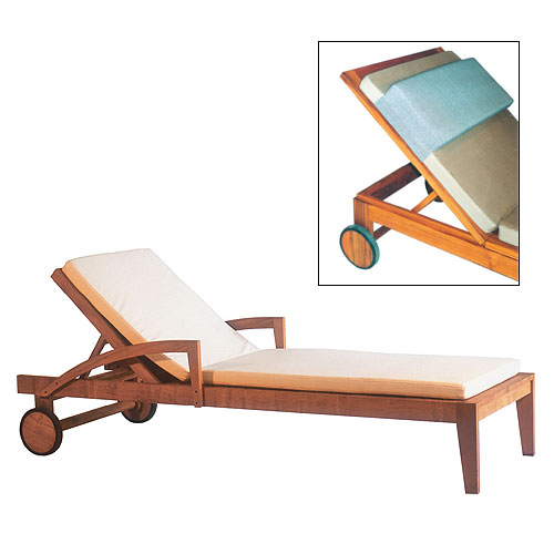 Tappered Pool Lounger