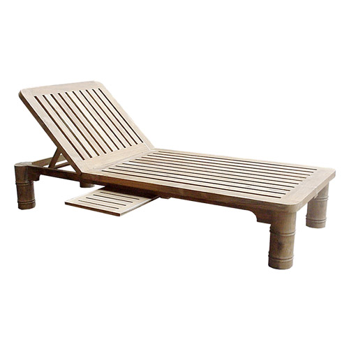 Bamboo Pool Lounger