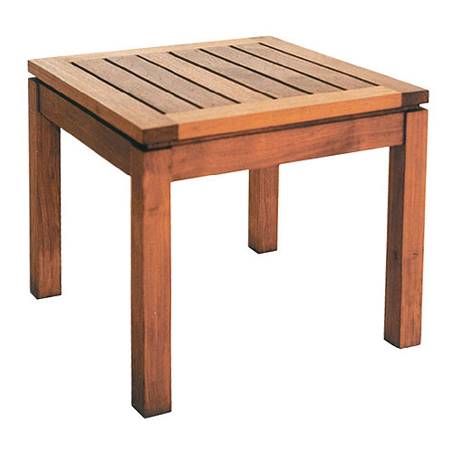 Bevel Outdoor Side Table Square