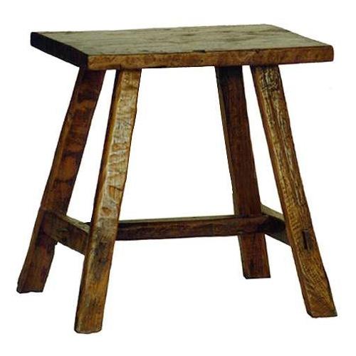 Primitive Side Table - No Shelf