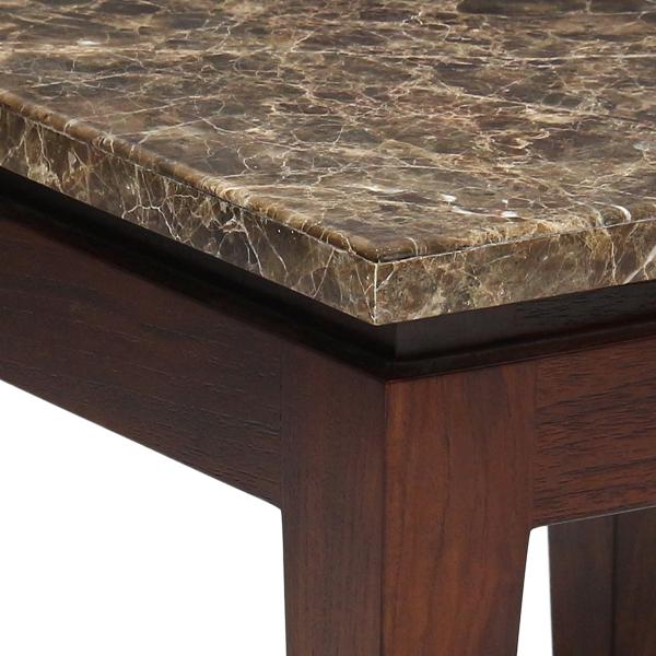 Riko End Table Stone Top