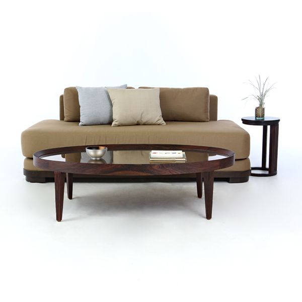 Kacha Oval Coffee Table-B