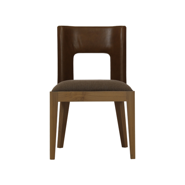 Teabu Leather Back Chair