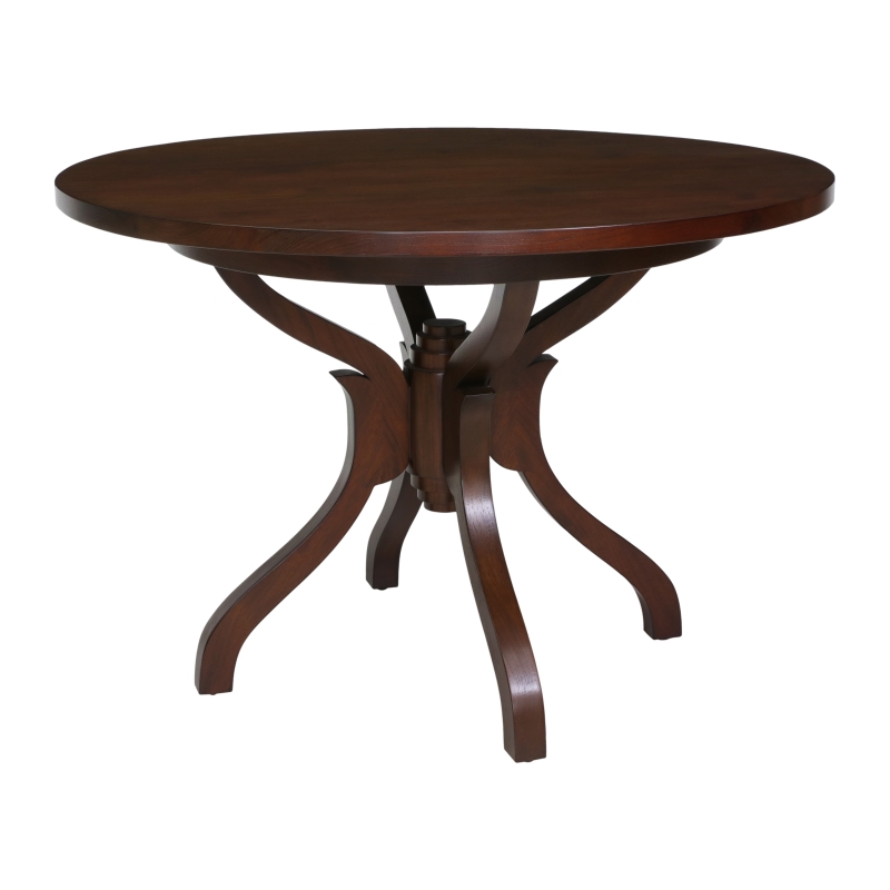 Mahe Round Dining Table Wood Top