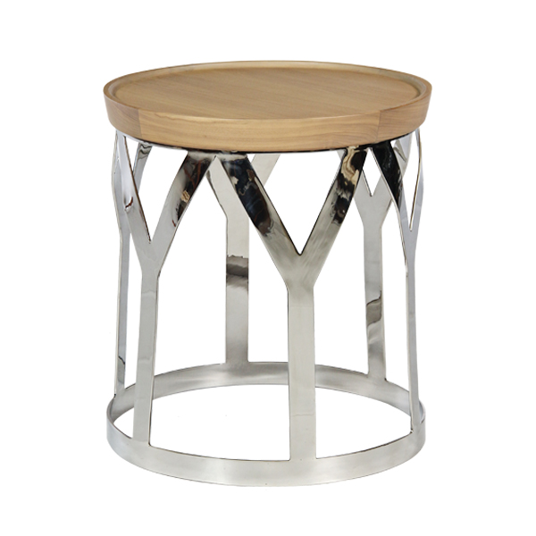 Evy Round Side Table-1