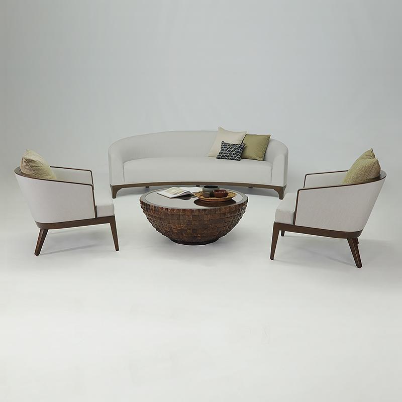 Luna Round Sofa Large