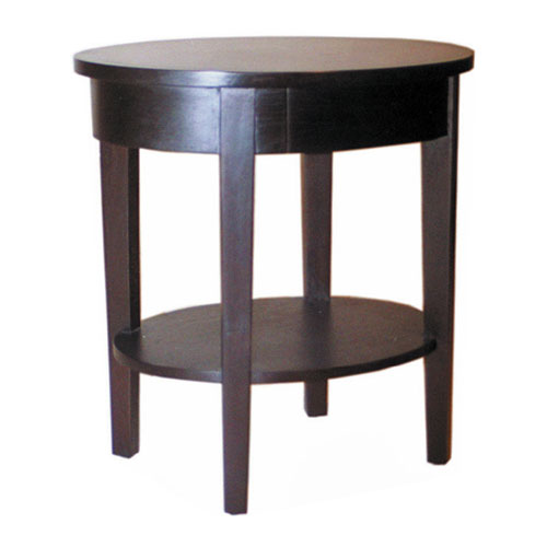 Oval Bed Side Table