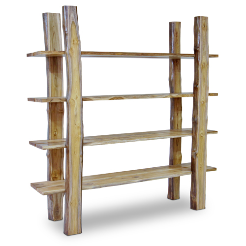 Origin Jati Flores Book Shelves