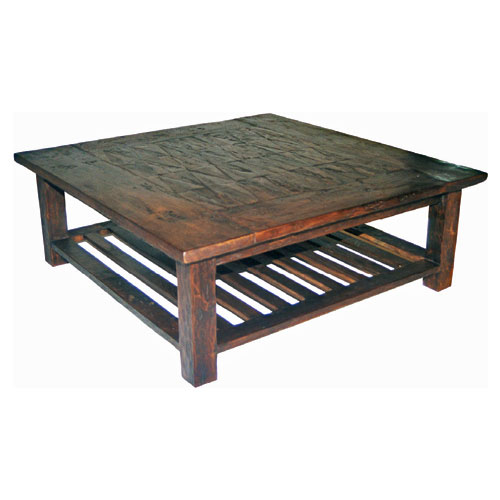 Inlaid Coffee Table Square