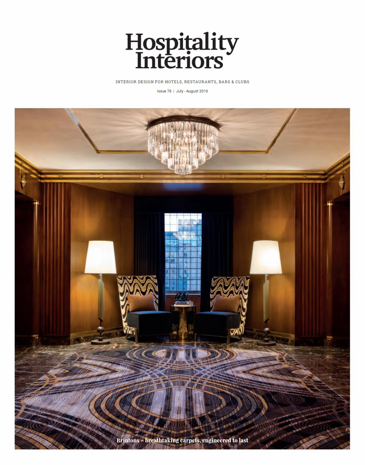 Hospitality Interiors Issue-78, Jul-Aug 2018